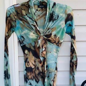 Karen Kane sheer shirt